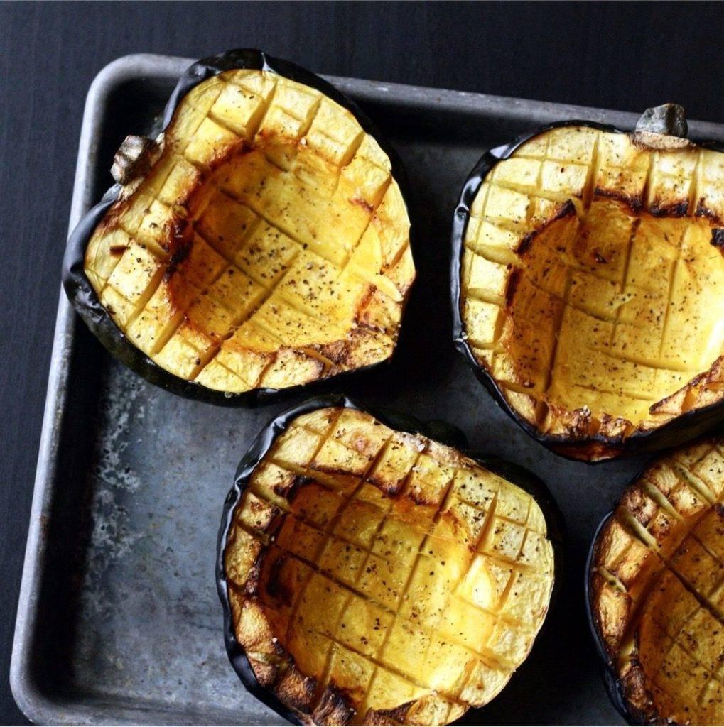 Basic Roasted Acorn Squash