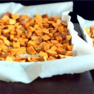 Chili Spiced Sweet Potatoes