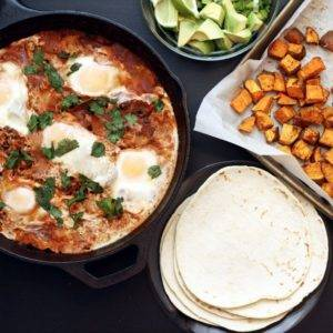 Shortcut Huevos Rancheros
