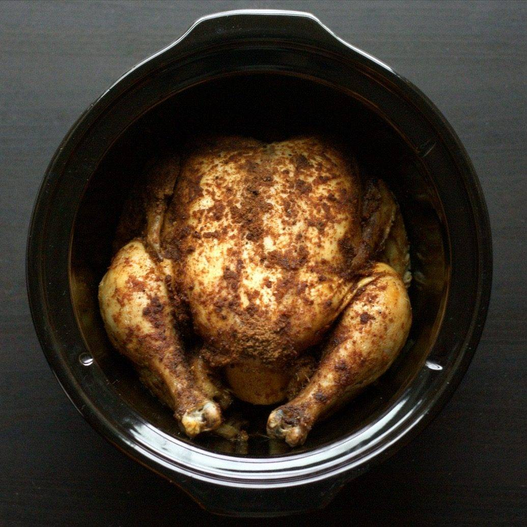 Slow Cooker Roast Chicken