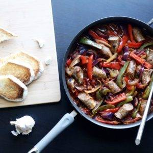 Weeknight Sausage and Peppers