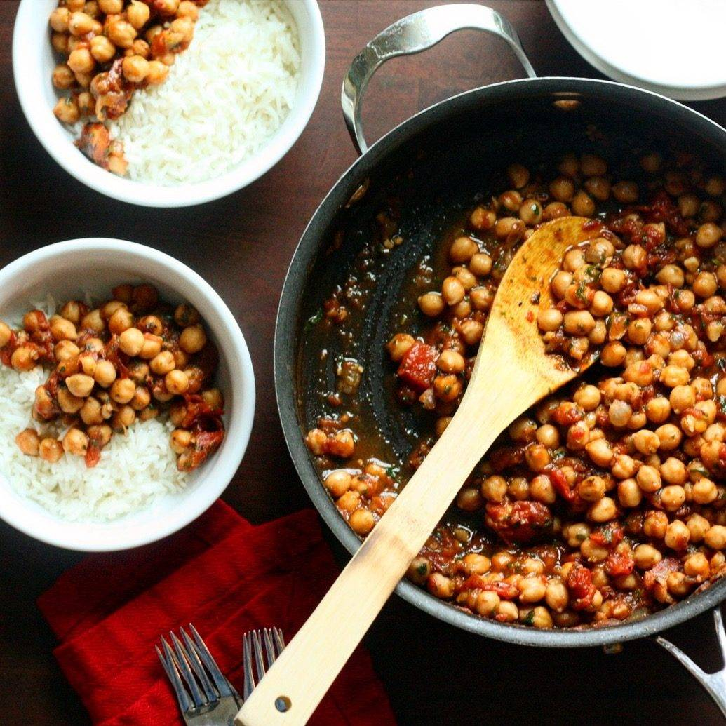 Weeknight Channa Masala