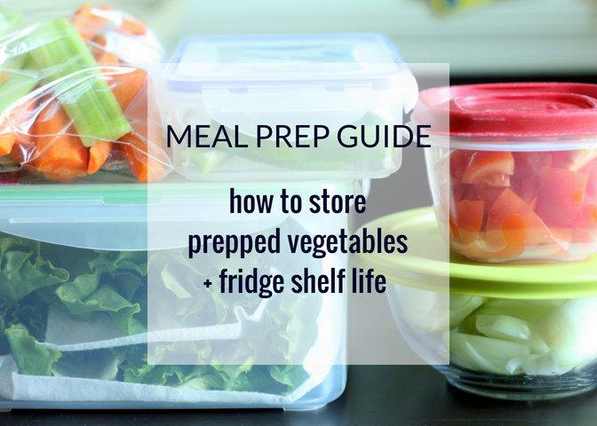 Meal Prep Guide: How to Store Prepped Vegetables