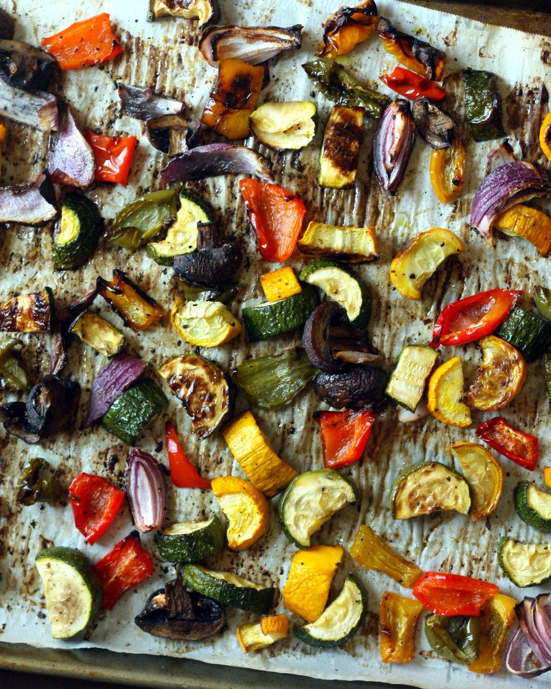 Perfect Roasted Vegetables (Spring/Summer)