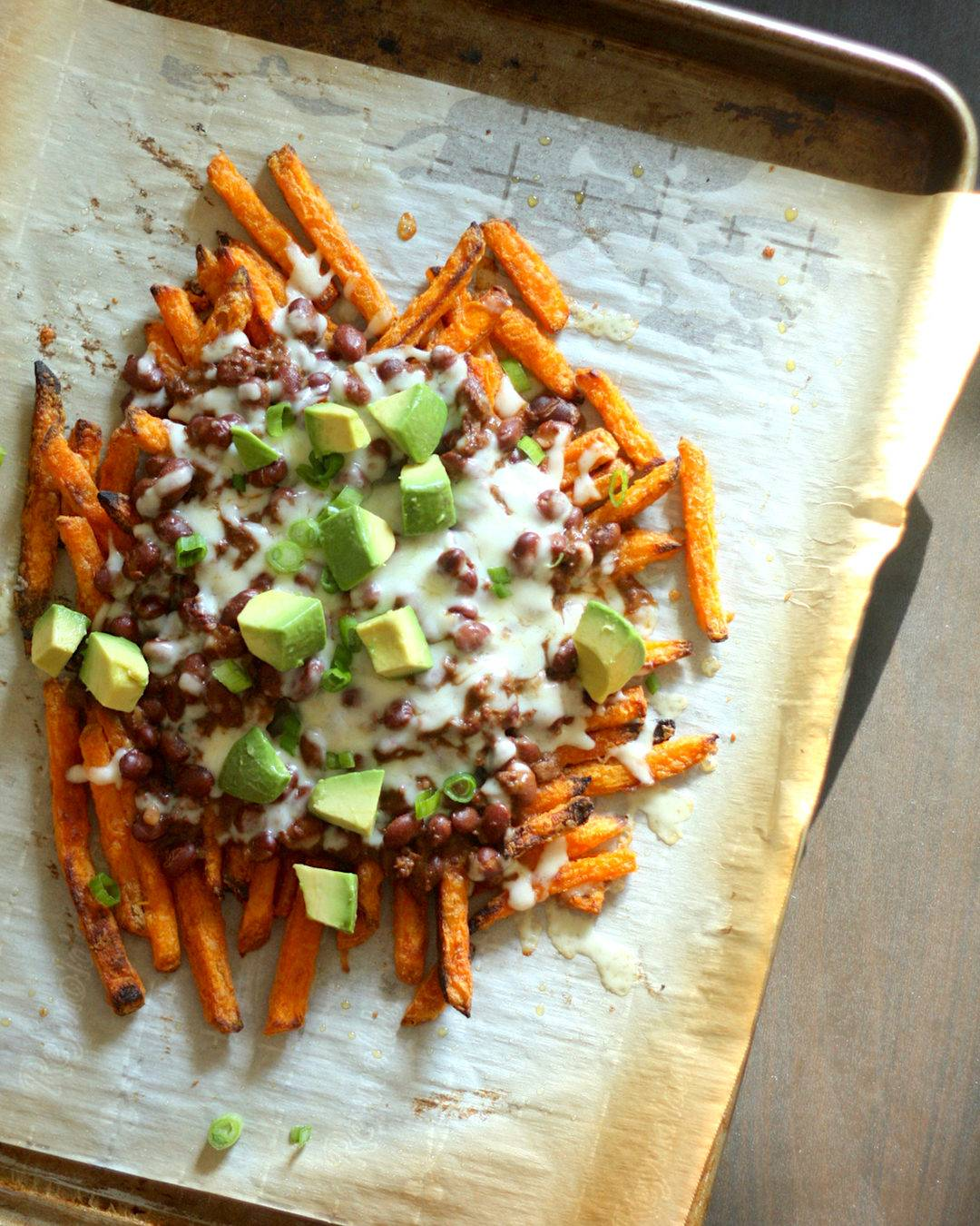Trader Joe's Recipe: Loaded Sweet Potato Fries