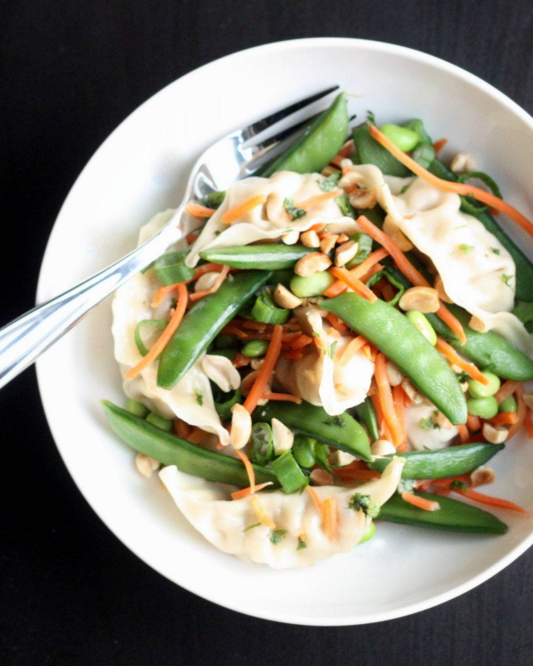 Potsticker Salad